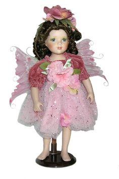 Fairy Porcelain Dolls-Fairy Dolls-Angel Porcelain Dolls-FAIRY Porcelain Doll By Cathay Collection-Brooklyn