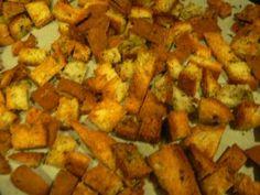 Easy Croutons w/ Udi's gluten-free end pieces! | Udi's® Gluten Free Bread