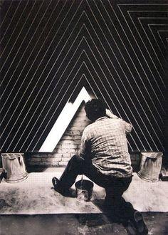 Frank Stella.