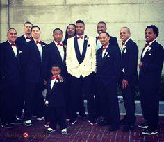 Thomas DeCoud's Air Jordan Wedding