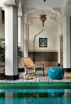 Casbah Cove, in California... by Gordon Stein Design.  Moroccan style, Moroccan design