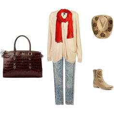 Casual Cowgirl, created by peggy-mason.polyvore.com