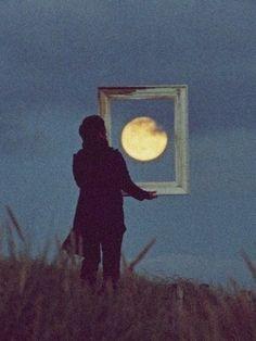 film, distance, la luna, dust, star, a frame, picture frames, drinks, moon pictures