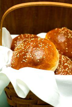 Hamburger Buns from @Michelle (Brown Eyed Baker)