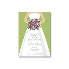bridal shower invitations for spring
