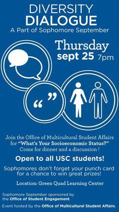 Diversity Dialogue Series at the University of South Carolina! #uofsc #sophomores #sophseptember14