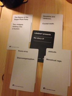 Customer Image Gallery for Cards Against Humanity