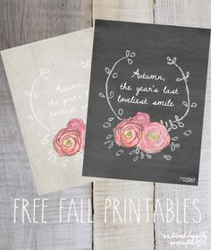 The Year's Last Loveliest Smile Free Printable