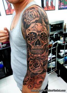 Search Results Mexican Sugar Skull  Design Tattoo