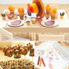 A Kid-Friendly Thanksgiving Table With Tips From Martha Stewart's Darcy Miller