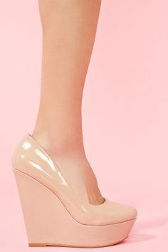 Nude Wedges!!