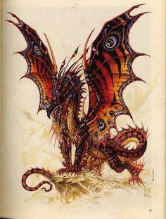 olivi ledroit, mystic, butterfli dragon, fantasi, butterflies, dragons, art, creatur, mythic