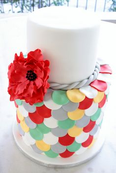 @Kathleen S S S S DeCosmo  #Cake  Double-Barrel cake by Party Cakes By Samantha, via Flickr