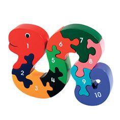 Fair Trade Snake Puzzle