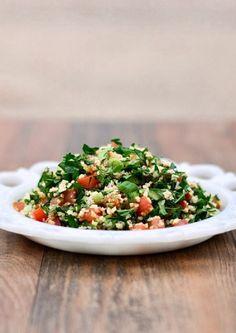 Lebanese Tabbouleh (Taboulie, Tabouli) Recipe