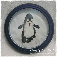 foot print penguin
