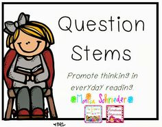grade stuff, respons question, reading response, read aloud books, reader workshop, question freebi, read respons, question stem, 2nd grade