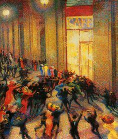 Unberto Boccioni - Rissa in galleria