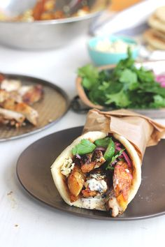 Greek Chicken Souvlaki | The Sugar Hit