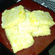 Lemony Lemon Brownies. Photo by Suzanne Stafford