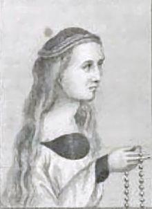 Agnes Howard née Tilney, Duchess of Norfolk (c. 1477-1545). Second wife of Thomas Howard, 2nd Duke of Norfolk