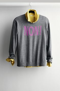 Cute sweater for fall.