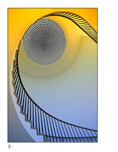 Staircase at Museum Köln, Germany