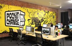 Pocket Change office by Blitz