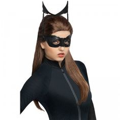 The Secret Wishes Batman Catwoman Adult Wig is an add-on accessory to the Catwoman Adult Costume, which is sold separately.