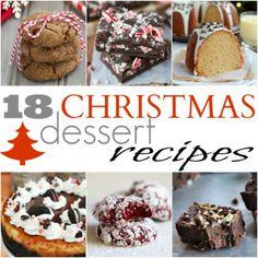 18 Easy Christmas Dessert Recipes