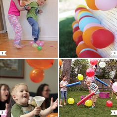 Balloon Party Game Ideas
