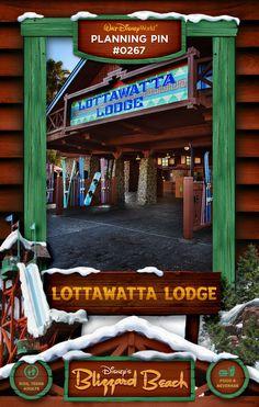 Walt Disney World Planning Pins: Lottawatta Lodge
