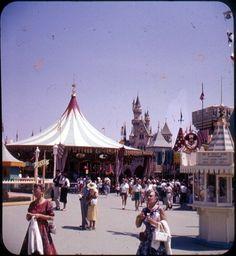 Carousel, Disneyland, 1958.Bruce Thomas