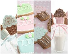 """How to """"flood"""" cookies with royal icing"""