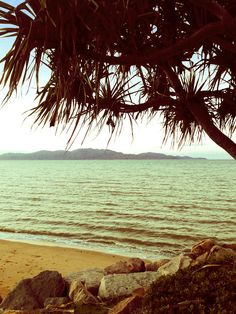 View of Magnetic Island from Townsville's Strand