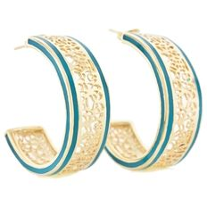 Andrew hamilton crawford perception collection hoop earrings feature