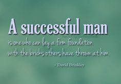Who dares to call themselves successful?:)
