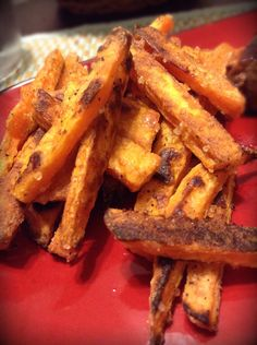 How to Make CRISPY Baked Sweet Potato Fries