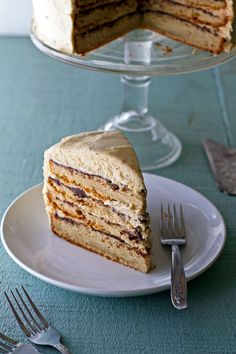 Peanut Butter and Chocolate Cake;  peanut butter cake, chocolate ganache and peanut butter white chocolate whipped cream ganache, and peanut butter cream cheese buttercream
