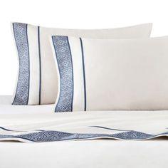 Artology Sashiko Sheet Set - BedBathandBeyond.com, queen, $150