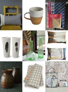 Individual Christmas gift ideas for her: Decorator's Notebook Shop www.decoratorsnotebook.co.uk