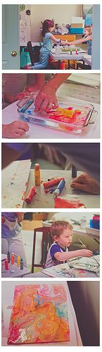 DIY Marble Paper