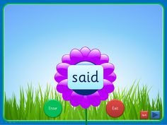 An interactive PowerPoint, linked to Letters and Sounds (Phase 4), that can be worked through at your own pace. Each slide has up to four high frequency words included and they can be viewed individually. The words enter as flower centres and can exit once viewed. This presentation could be used for small groups and individual children in addition to whole class teaching. The Comic Sans activity is editable while the others use an embedded font (Sassoon Infant)