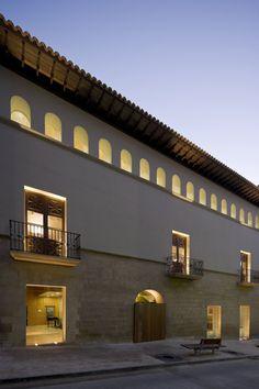 Alcañiz, Spain  Rehabilitación de la Casa Julve en el Centro Histórico de Alcañiz  Magén Arquitectos