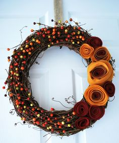 25 DIY Festive Fall Wreath Tutorials