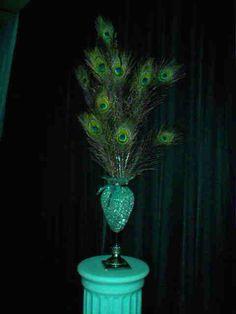 Peacock Wedding Ideas, Peacock Wedding Supplies