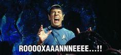 Belt it, Mr. Spock!