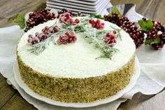 "Medovik – Russian Honey Layer Cake: Торт ""Медовик"" recipe, lots of layers with a crazy rich frosting"