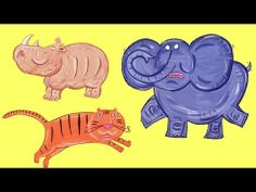 """We're Going to the Zoo song - kids will love to sing along and see their favorite animals - monkeys, elephant, giraffe, seals and rhinos""""  You can come to - We're going to the zoo! #animal song #lovetosing #kids #music"""