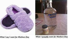Moms, be honest.